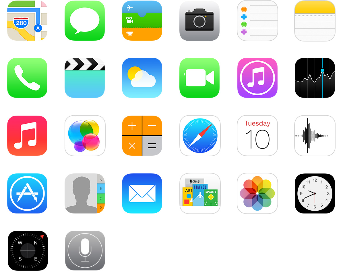 Ios 7 the pixel envy review pixel envy ive already covered the shape of these icons above so lets talk about their size as i noted earlier this is an os tailored for high resolution displays buycottarizona