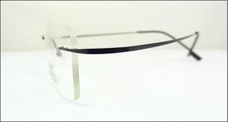 117e8b8a1 Armação Oculos Grau Feita De Titanium Preta Sem Aro - A525 (Outras ...