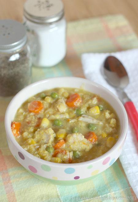 Chicken Corn Chowder | cupcakesandkalechips.com | #soup #onepotmeal #glutenfree