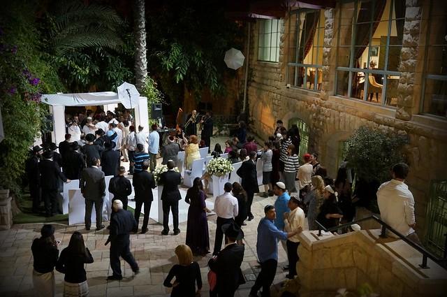 A Jewish wedding at Kind David Hotel in Jerusalem