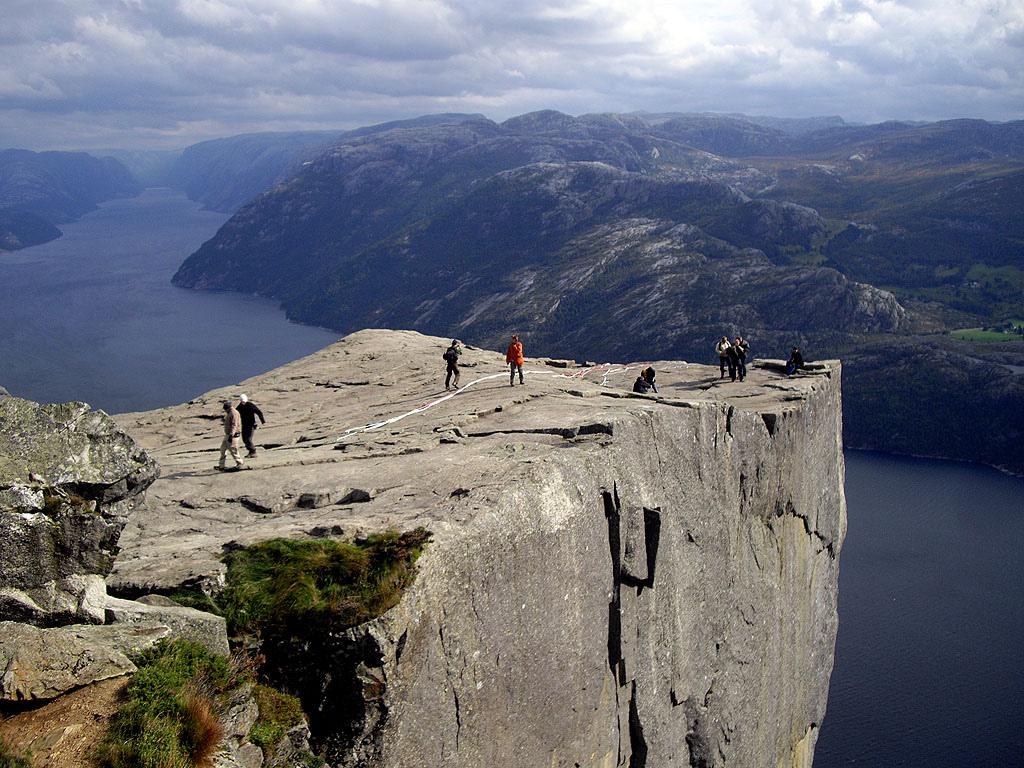 5. La Roca del Púlpito, en Lysefjorden. Autor, Masqtrekking