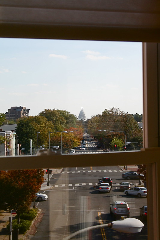 Axial view of the Capitol