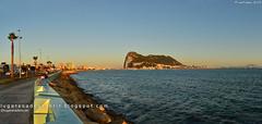 El Peñón de Gibraltar (La Línea, España)