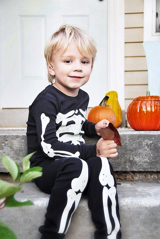 carters toddler skeleton costume