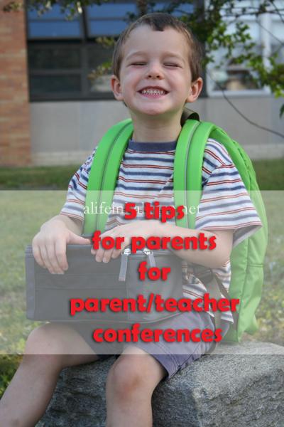 5 Tips for Parents for Parent/Teacher Conferences
