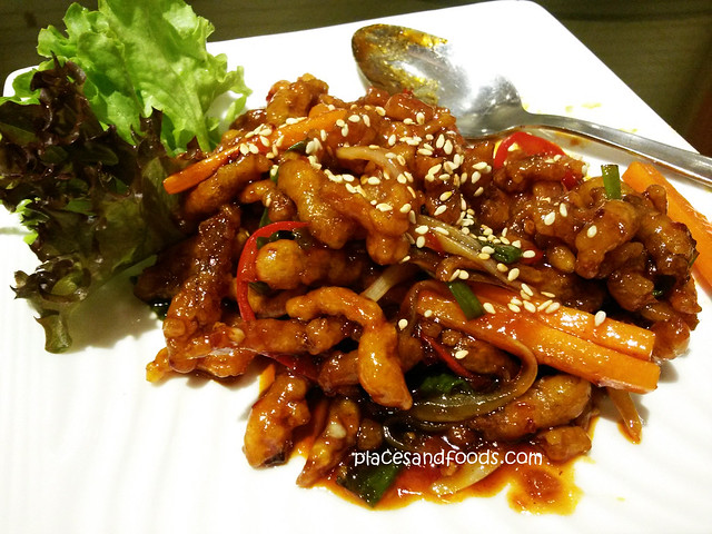 village roast duck shredded beef with spicy