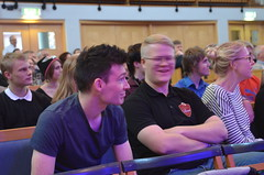 Brassbandfestivalen 2013 - Paul Duffy och Alexander Forsberg (Foto: Olof Forsberg)