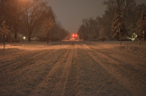 winter columbus ohio snow weather night landscape weatherphotography