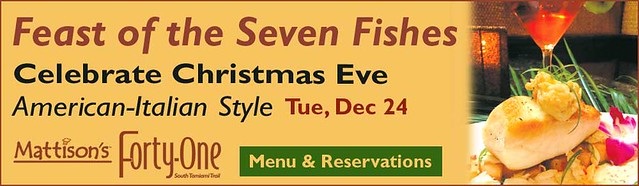 Mattison 39 s holiday dining events gifts and parites for What is the feast of seven fishes