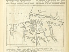 """British Library digitised image from page 308 of """"Pictorial History of the Russian War, 1854-5-6. With maps, plans, and wood engravings [The preface signed: G. D, i.e. George Dodd.]"""""""