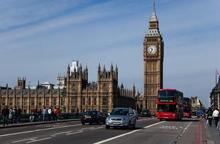 Le Pont de Westminster, le Palais de Westminster et Big Ben