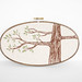 Natural Tree Embroidery Hoop by sarah_hennessey