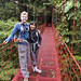 Me and Catherine on bridge overlooking cloud forest by timekin