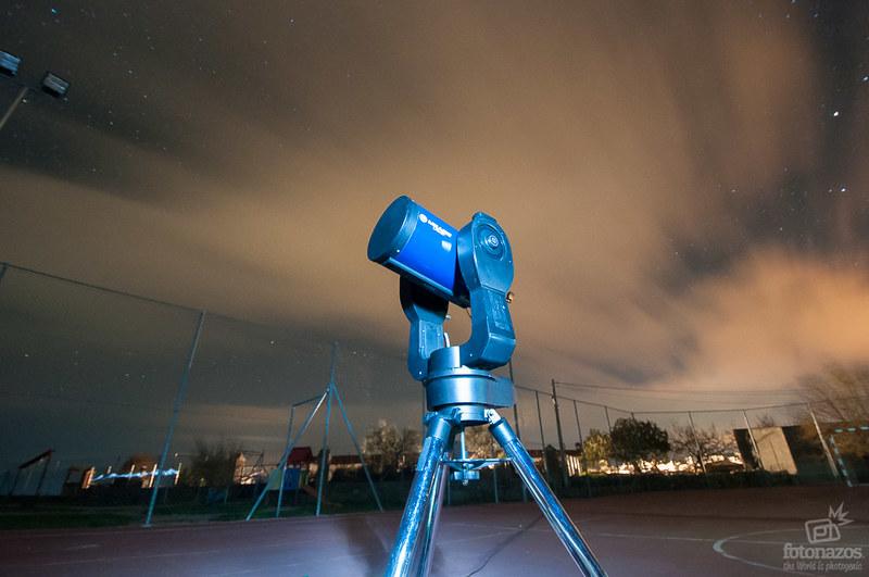 Observación astronómica en el Valle de Ambroz