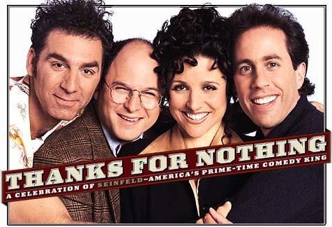 "Seinfeld: ""tudo sobre o nada"""