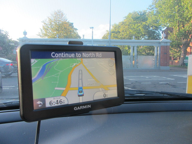 A picture of Garmin nüvi