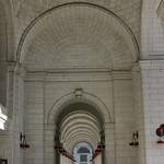 Archways in Union Station, D.C.