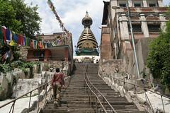 Świątynia Swayambhunath Temple - Kathmandu
