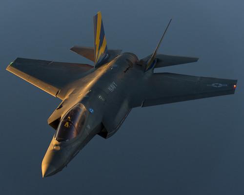 F-35C at Dusk