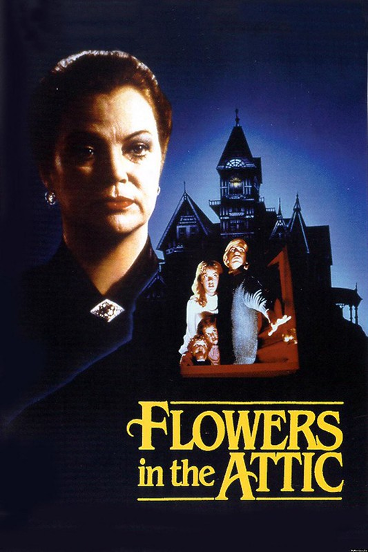the cover of the flowers in the attic paperback book