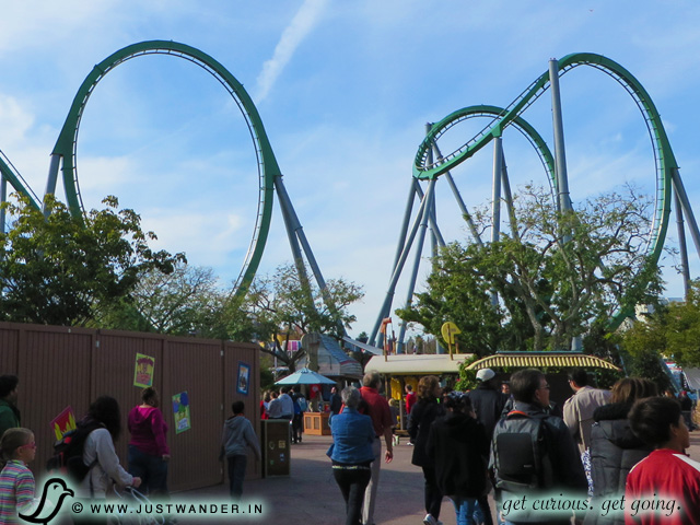PIC: The Incredible Hulk Coaster