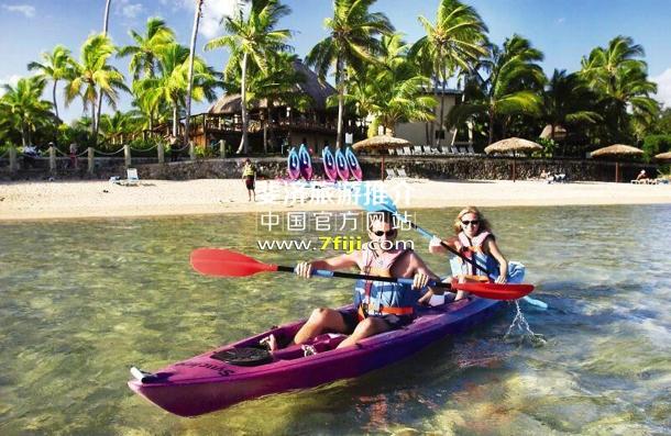 斐济奥瑞格礁湖度假酒店(Outrigger on the Lagoon Fiji)水上运动