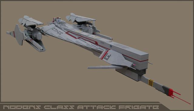 NODENS class fast attack frigate
