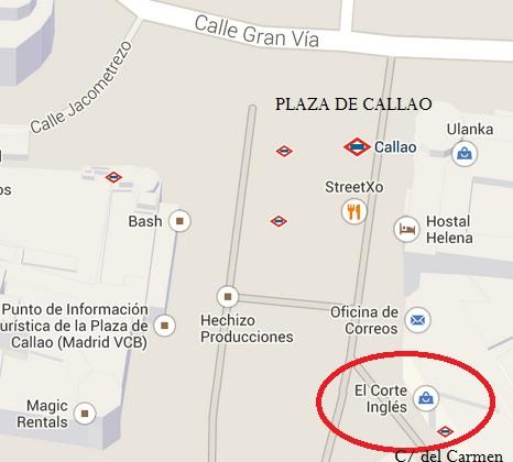Mapa de ubicación de Ámbito Cultural - Callao