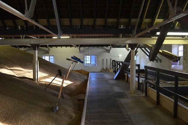 Balvenie Whisky Distillery in Dufftown - Malting Process (Scotland)