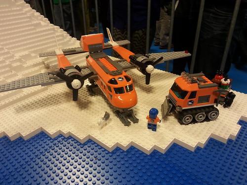 LEGO Arctic Plane