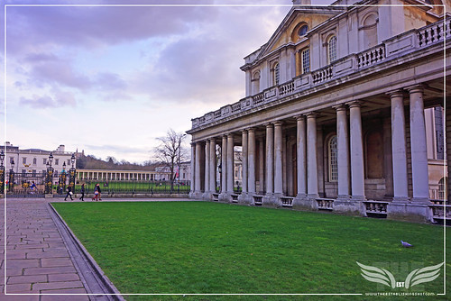 The Establishing Shot: THOR: THE DARK WORLD BATTLE OF GREENWICH FILM LOCATION - UPPER GRAND SQUARE, THE OLD ROYAL NAVAL COLLEGE (ORNC) GREENWICH, LONDON by Craig Grobler