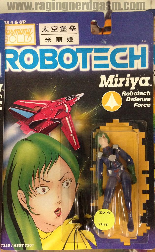 Robotech Carded Figures Miriya