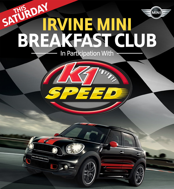 12971810764 e316a5bc94 b Irvine MINI Breakfast Club this Saturday!