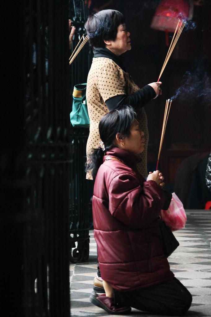 祈願 -- 人文攝影@龍山寺