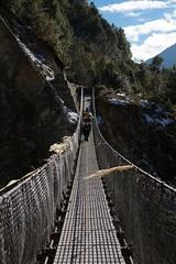 suspension bridge, rope bridge, infrastructure, bridge,