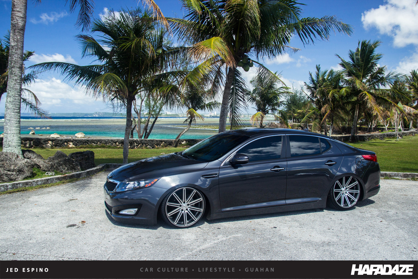 The Worlds First Modified Kia Optima Skyler Taitano Didnt Want To Be Same As Anyone Else Evidenced By His