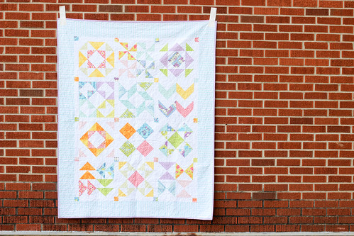 Dreamin' Vintage Half-Square Triangle Sampler Quilt