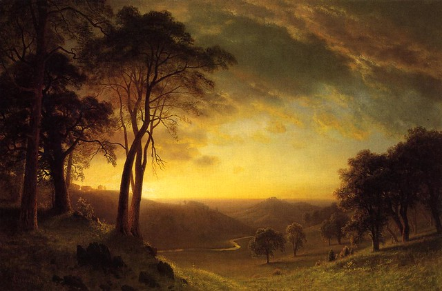 The Sacramento River Valley by Albert Bierstadt (1830–1902), 1872