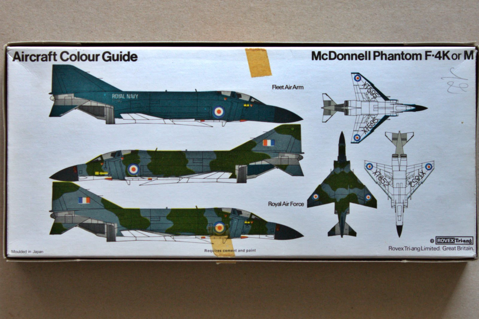 F-4 Phantom II FROG 1/72 markings