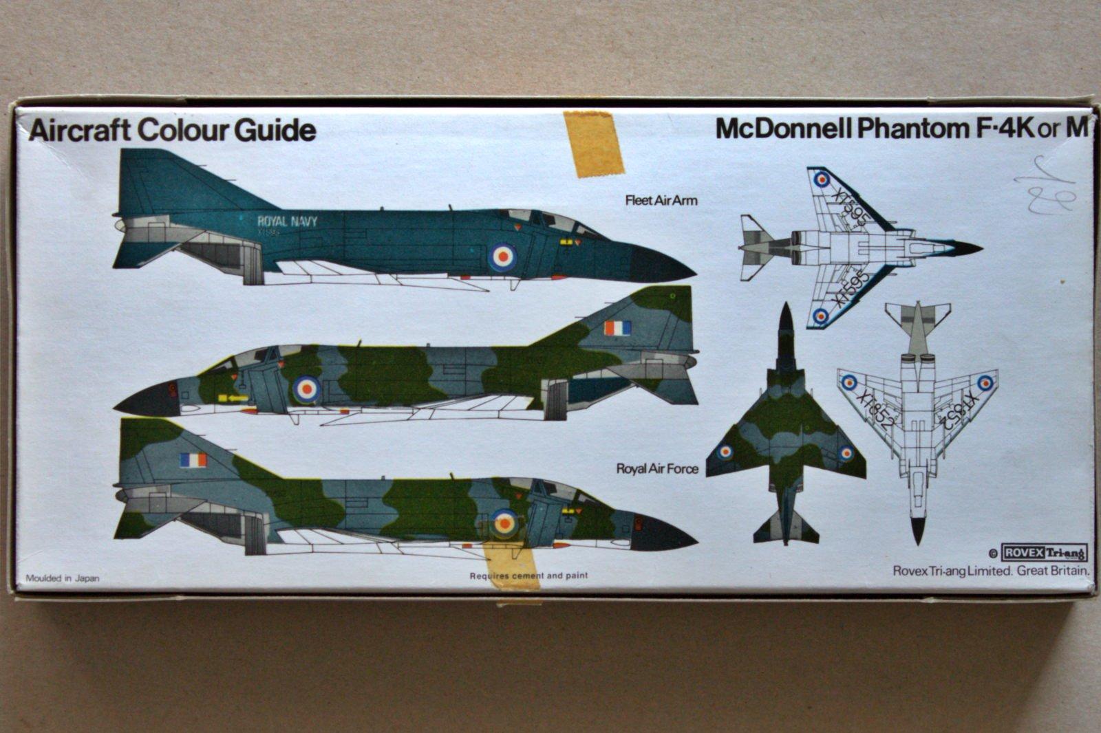 F-4 Phantom II FROG 1/72 markings