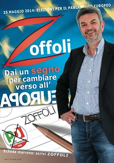 Manifesto europee Zoffoli