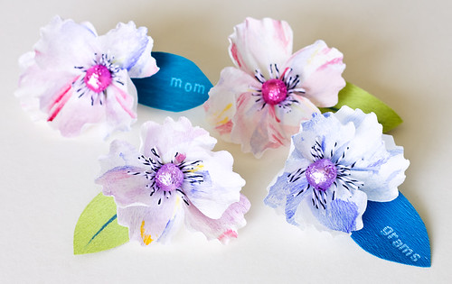 DIY Mother's Day Flower Gift Topper & Pin