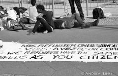 Hungerstreik am Alex....
