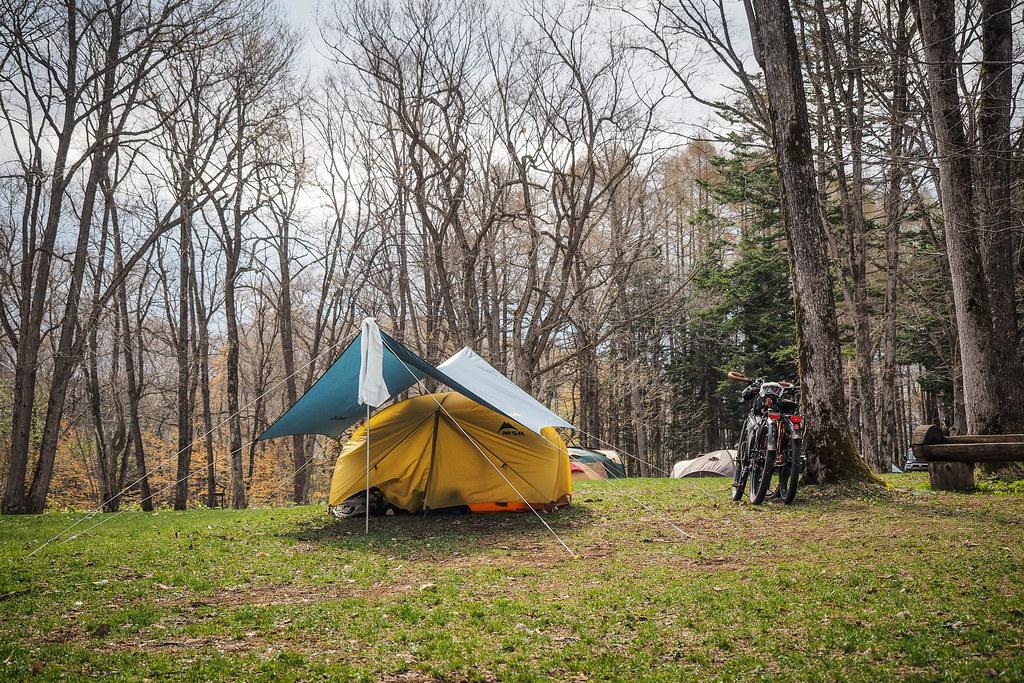Yuni Campground in Yuni, Hokkaido, Japan