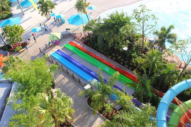 Ihu's Breakaway Falls at SeaWorld Orlando's Aquatica