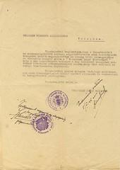 VII/8.a. A Veszprémi Zsidó Közösség bejelenti a Deportálásból Visszatért Veszprémiek Érdekképviseletének megalakulását 50_1945