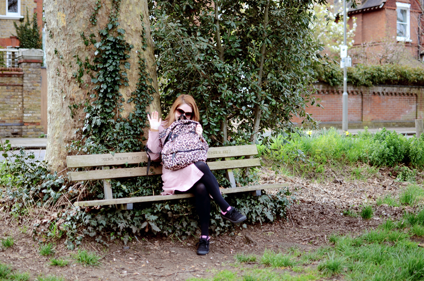me in putney common bench
