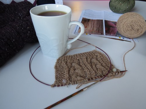 Swatching Cafe au Lait