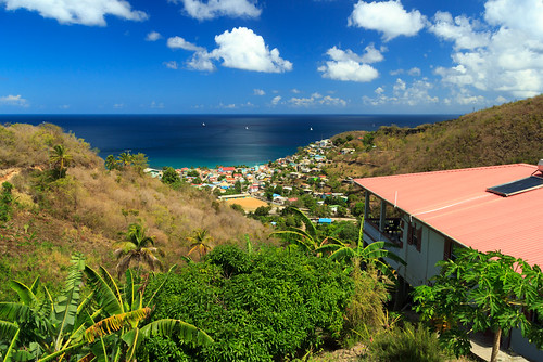 ocean tropical blueskies canaries stlucia