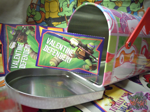 "TIN BOX Co. :: ""TEENAGE MUTANT NINJA TURTLES"" Retro Style Mailbox Tin ix (( 2015 ))"